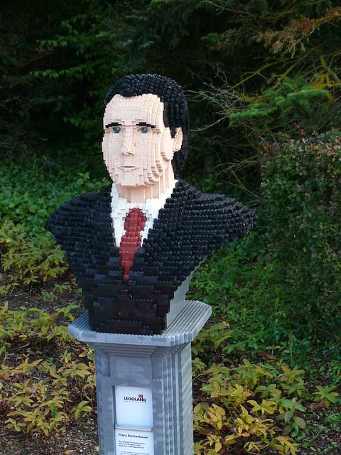 LEGO-Büste: Franz Beckenbauer
