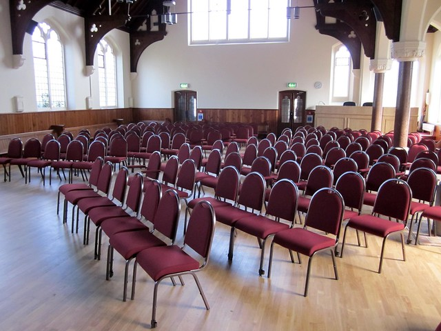 Histon Baptist Church Chairs