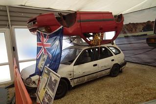 Double Decker race cars - Top Gear