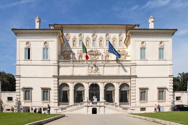 La villa Borghèse (Rome)
