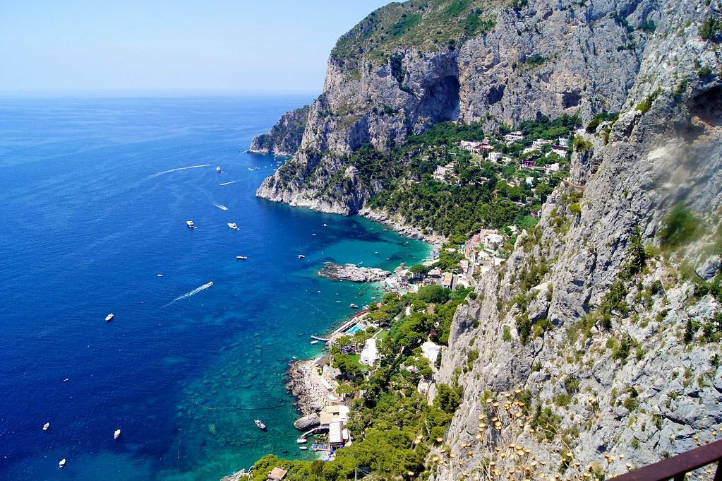 Capri пейзаж