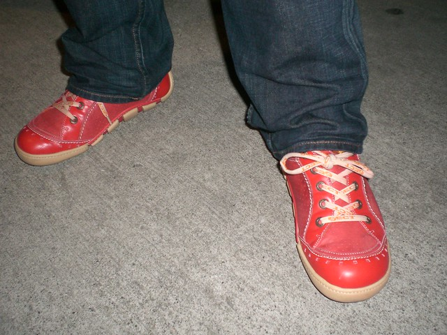 Red Howard Shoes