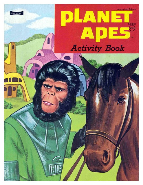 Planet of the Apes Activity Book 0100001
