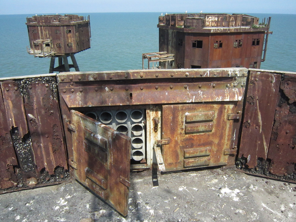 Redsands WWII Maunsell Sea Forts