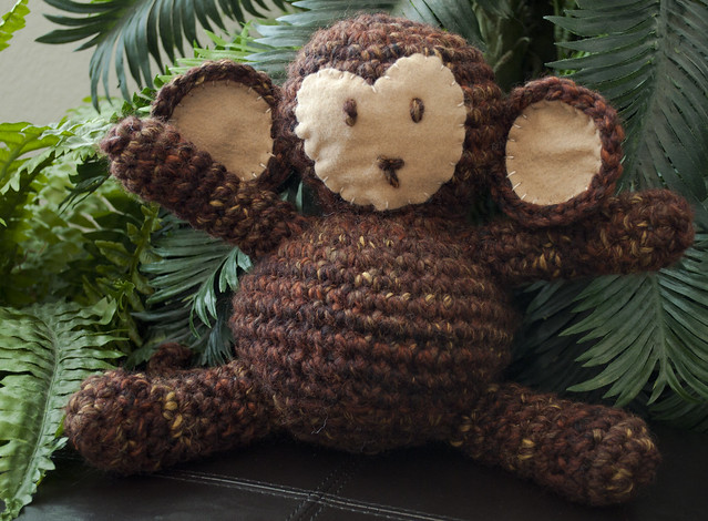 Amazon.com: Crochet pattern cheeky monkey earflap hat includes 4