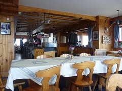 Rifugio Lagazuoi - Dining room