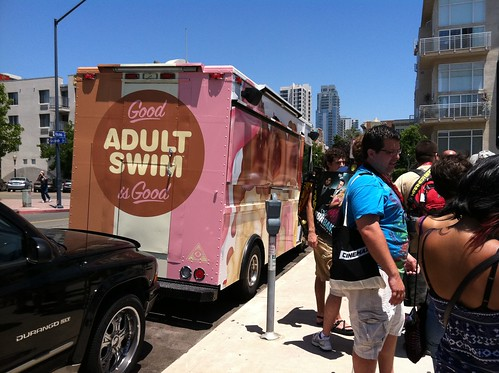 Adult Swim ice cream truck