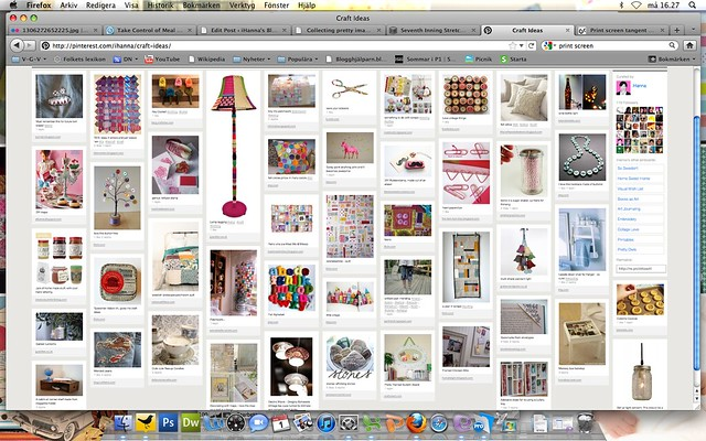 Pinterest visual image party