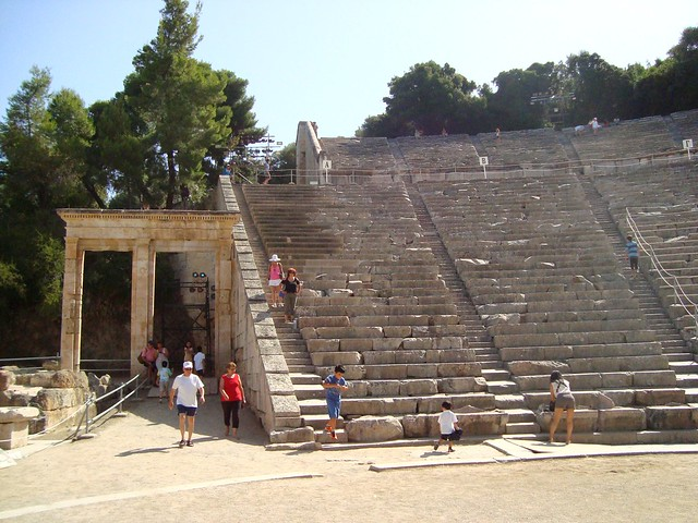 Epidaurus Theatre, Nafplio, Greece
