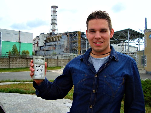 Geiger counter at Reactor 4, Chernobyl Nuclear Power Plant, Ukraine