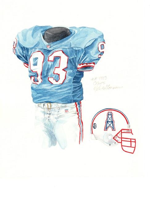 Houston oilers 1993 uniform artwork flickr photo sharing