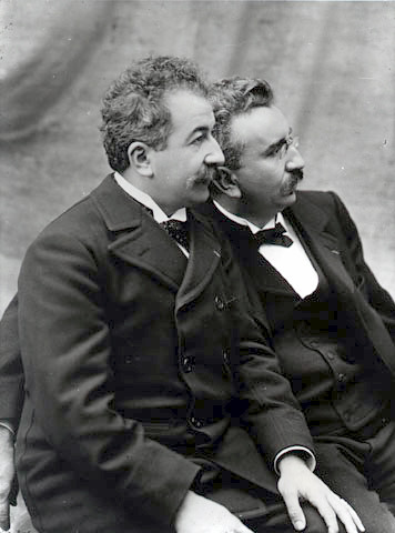 Auguste and Louis Lumière by kylepounds2001