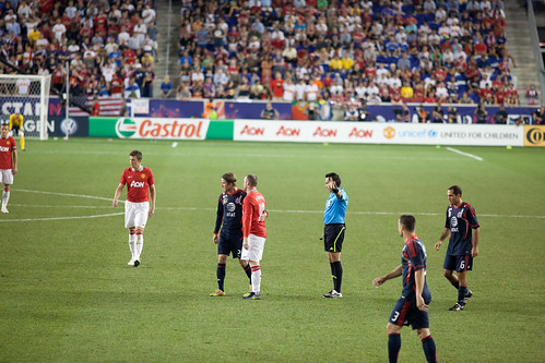 Manchester United vs MLS All Stars