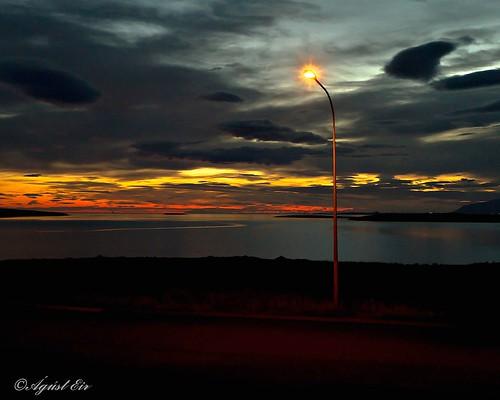 light sunset sea sky nature beautiful night landscape eos iceland reykjavik grafarvogur efs1022mm landslag ringexcellence
