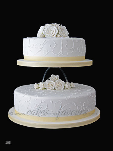 2 tier round wedding cakes pictures wedding cake 102 2 tier wedding cake presented on 10136