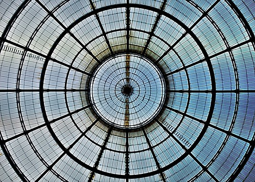 The glass dome of Milan