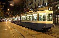 Trams on Bahnhofstrasse