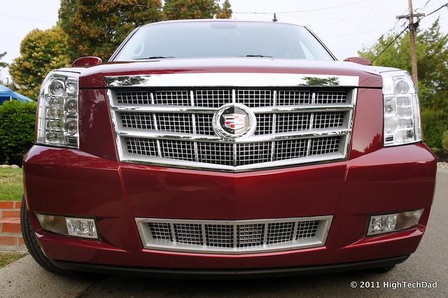Front Grill of Cadillac Escalade