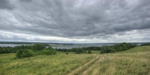 sky panorama postprocessed water travels skies lakes panoramas panoramic trips belarus stitched hdr braslav vitebskregion otherwheres braslavlakes