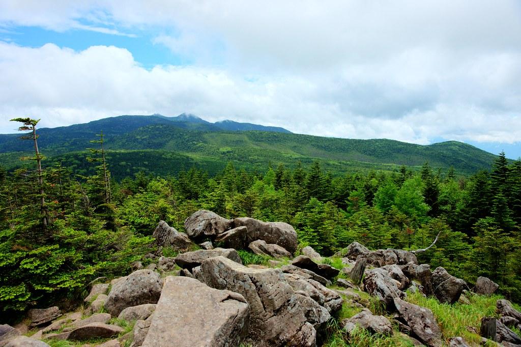 Elevation Of Kirigamine Highland Shiga Suwa Nagano