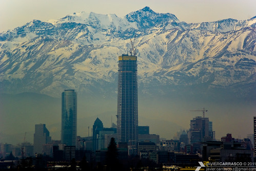 santiago urban naturaleza mountains skyline architecture buildings edificios downtown colours skyscrapers pentax towers panoramic views backdrop vistas altura highrises cladding torres rascacielos urbanviews lascondes beautifulsettings pentaxsmc elgolf kmount costaneracenter justpentax pentaxart pentaxdal55300mm