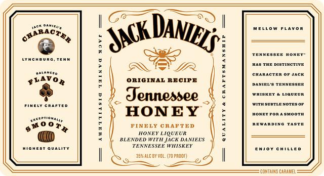 5951586012 7da44fe8a6 z jpgJack Daniels Honey Whiskey Label