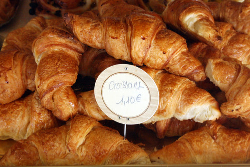 Authentic, hand-made french croissants