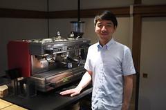 Kunitomo -san of Omotesando Koffee
