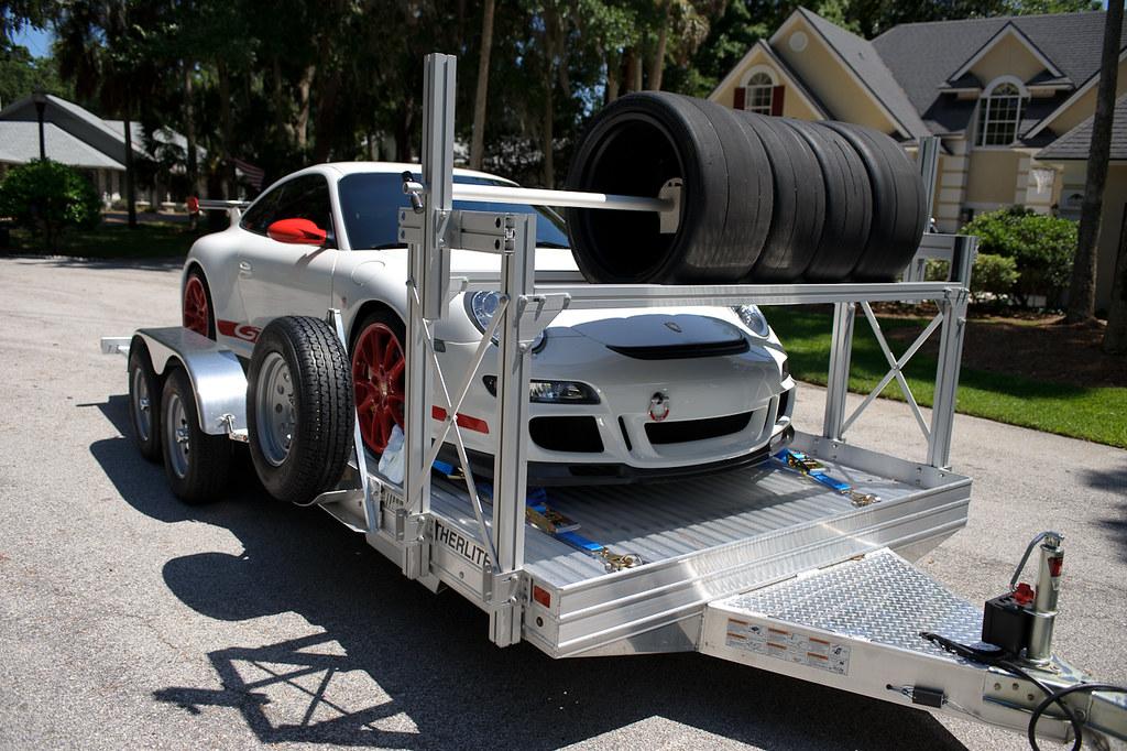 Fs 2011 Featherlite Trailer 3110 6speedonline Porsche