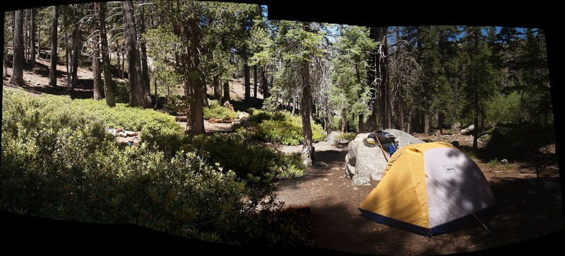 Columbine Camp panorama