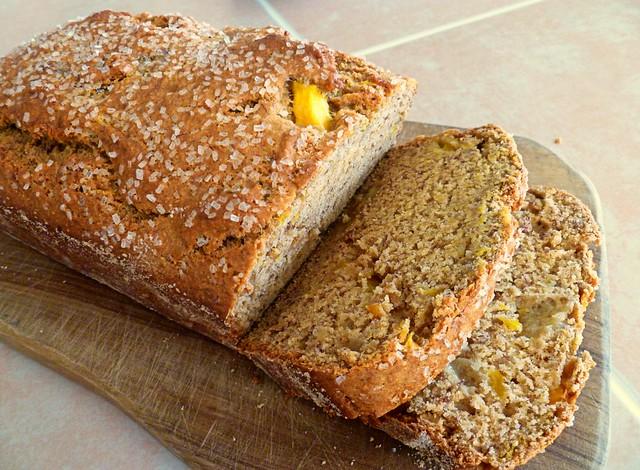 vegan mango banana bread | Flickr - Photo Sharing!
