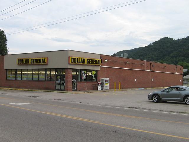 Probable former Kroger store (Marmet, WV)