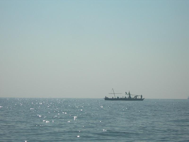 Fishermen, Off the coast of Karachi