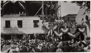 Cornerstone Laying Ceremony, Missouri State Capitol (MSA)