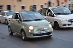 automobile, fiat, fiat 500, vehicle, city car, compact car, fiat 500, land vehicle,