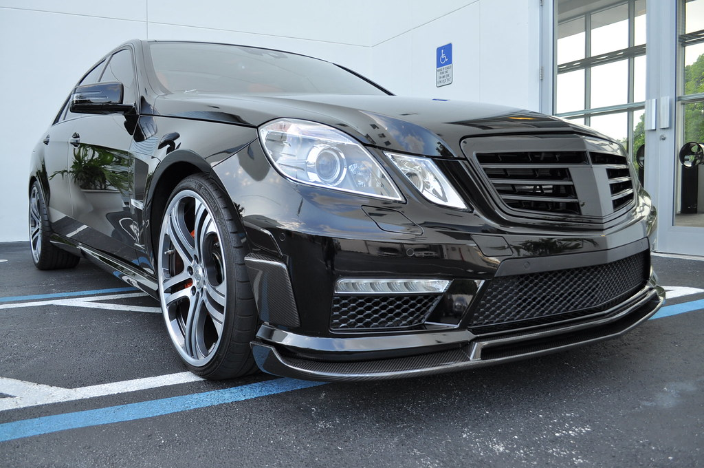 Brabus b63 s for Mercedes benz of tysons corner staff