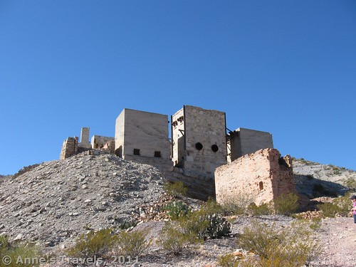 Mariscal Mine, old mercury mine in Big Bend National Park, Texas