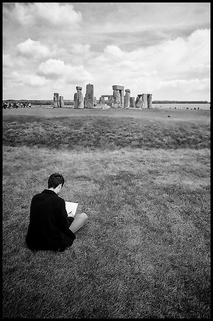 Drawing Stonehenge