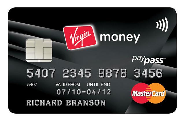 Virgin credit cards was error