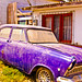 Old Purple Car