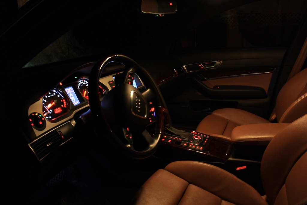 Audi A6 Interior Night Car Review And Gallery