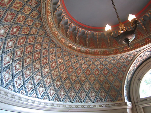 Daniel X. O'Neil's photo of a ceiling in the Pittock Mansion.