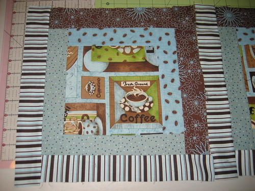 Coffee Quilt Patch
