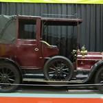 antique car at transport museum