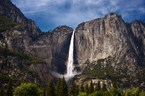 waterfall landscapes