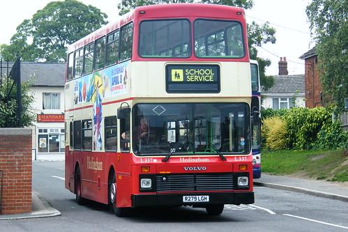 Hedingham, R279LGH by Steven's Transport Photos