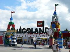 Haupteingang: Legoland Deutschland