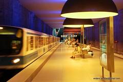 U-Bahn München - U-Bahnhof Westfriedhof (U1)