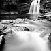 Falls of Falloch (B+W) by PaulKillenPhotos