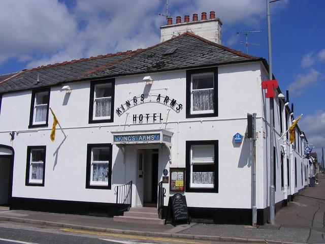 Dumfries & Galloway: Castle Douglas: KINGS ARMS HOTEL